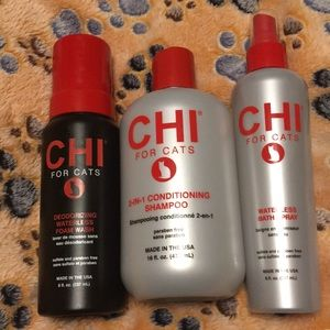 3 CHI Products for cats